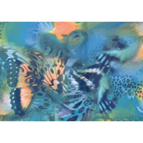 Coco Print Linten Butterfly