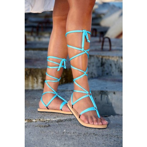 Lux Linten Turquoise
