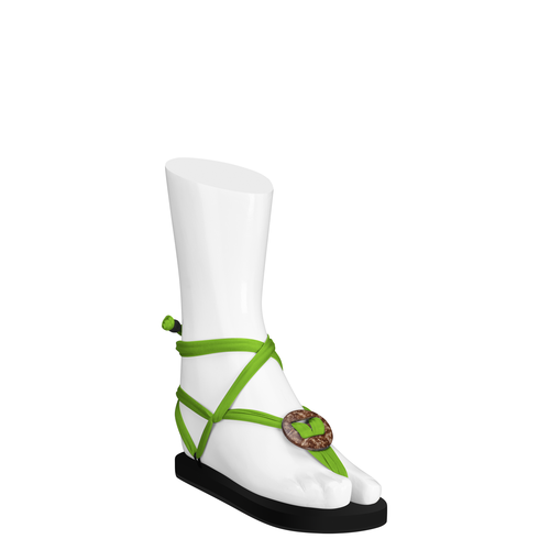 Coco Laces Green