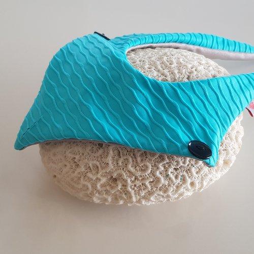 Fabric Sandals Mini Sky