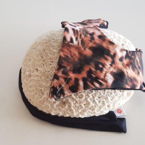 Fabric Sandals Ballet-style Leopard