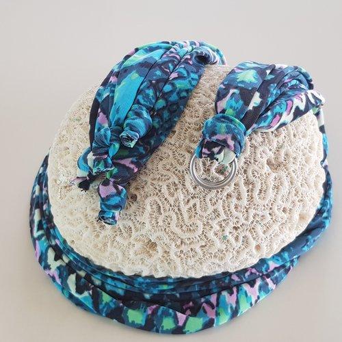Boho Sandal Laces Turquoise Python