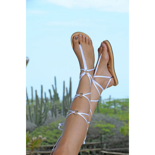 Laced Wedding Sandals