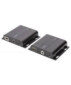 4K HDMI Extender Set over IP over netwerk kabel (CAT 5/5e/6/7), 4K2K/30Hz