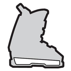 Bootboard skischoenen aanpassen