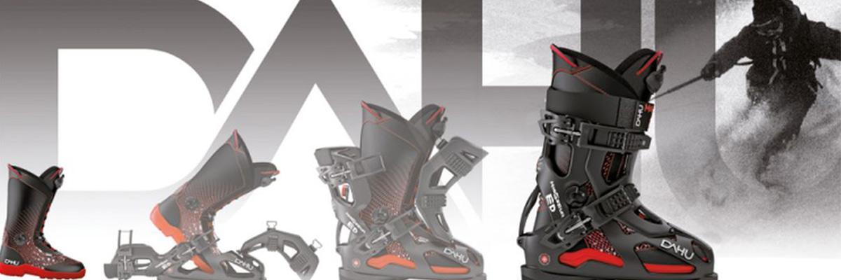 Dahu skischoenen met softboot