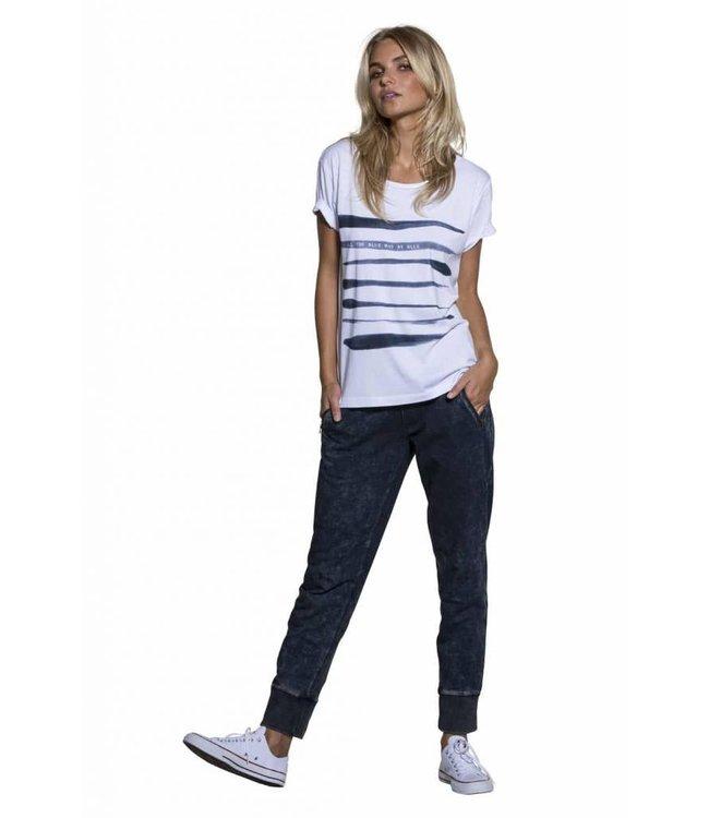 Blue sportswear Blue Andrea Denim Pants 180115