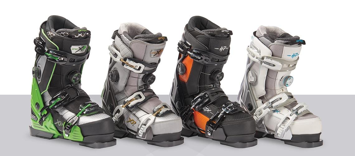 Apex skischoenen collectie