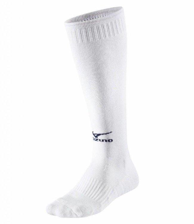 Mizuno Volleybalsokken lang comfort wit