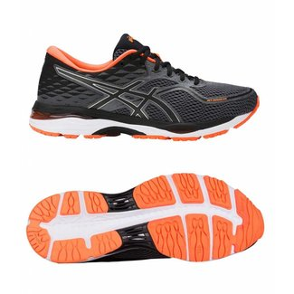 Asics Gel-Cumulus 19 carbon/black/orange