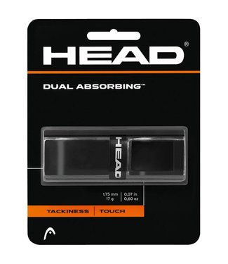 Head Dual Absorbing Grip 285034-BK