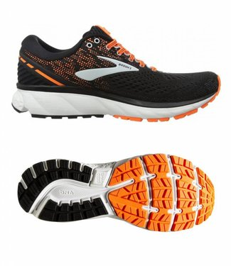 Brooks Ghost 11 black silver orange