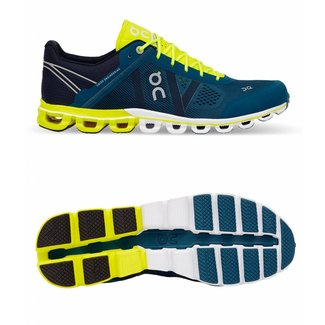 ON Running Cloud Flow men | ON Running | Petrol/Neon