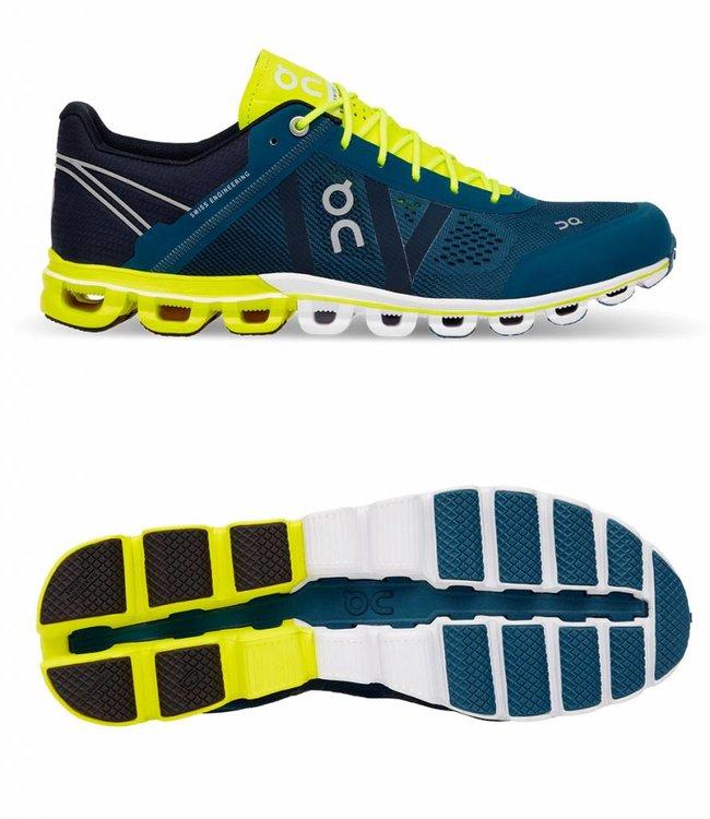 ON Running Cloud Flow men | ON Running | Petrol/Neon