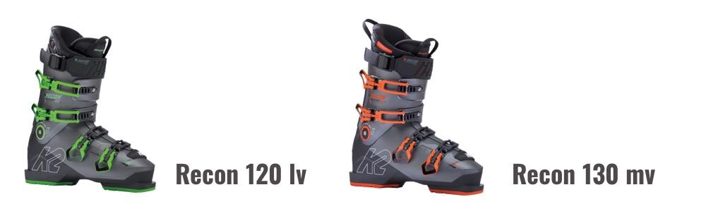 K2 Recon 120 LV en Recon 130 MV