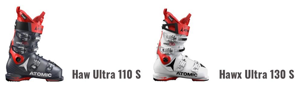 Atomic Hawx Ultra 110 S en 130 S beste skischoen
