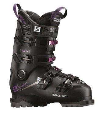 Salomon X Pro 100 W black/purple 2019