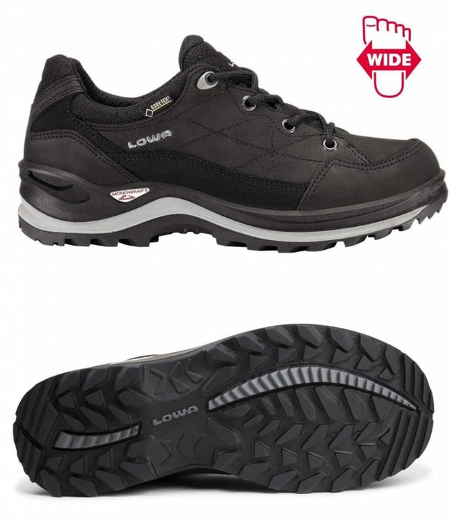 Renegade III GTX  lo wide black
