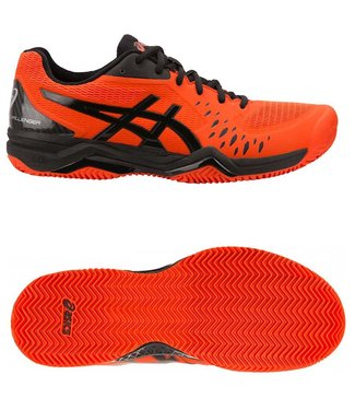 Asics Gel-Challenger 12 clay Cherry Tomato/Black
