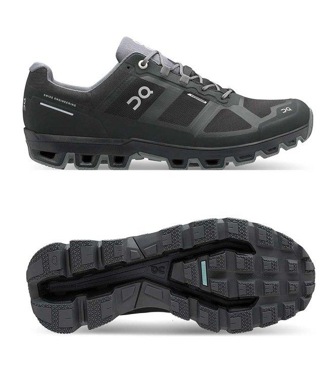 ON Running Cloudventure Waterproof Men  Black/Graphit