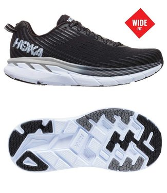 Hoka one one W Clifton 5 wide black/white