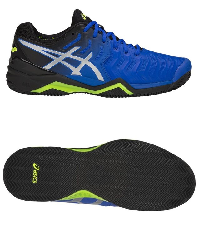 Asics Gel-Resolution 7 clay illusion blue silver