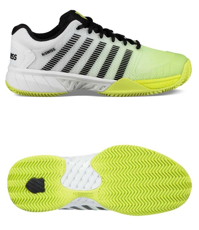 Hypercourt Express HB white/neon/yellow/black
