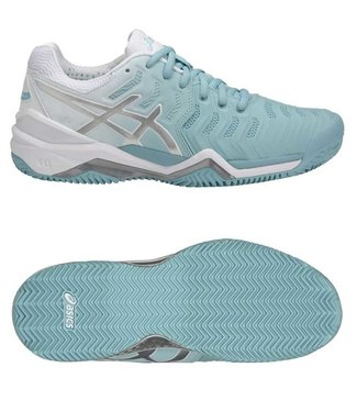 Asics Gel-Resolution 7 clay w porcelain blue