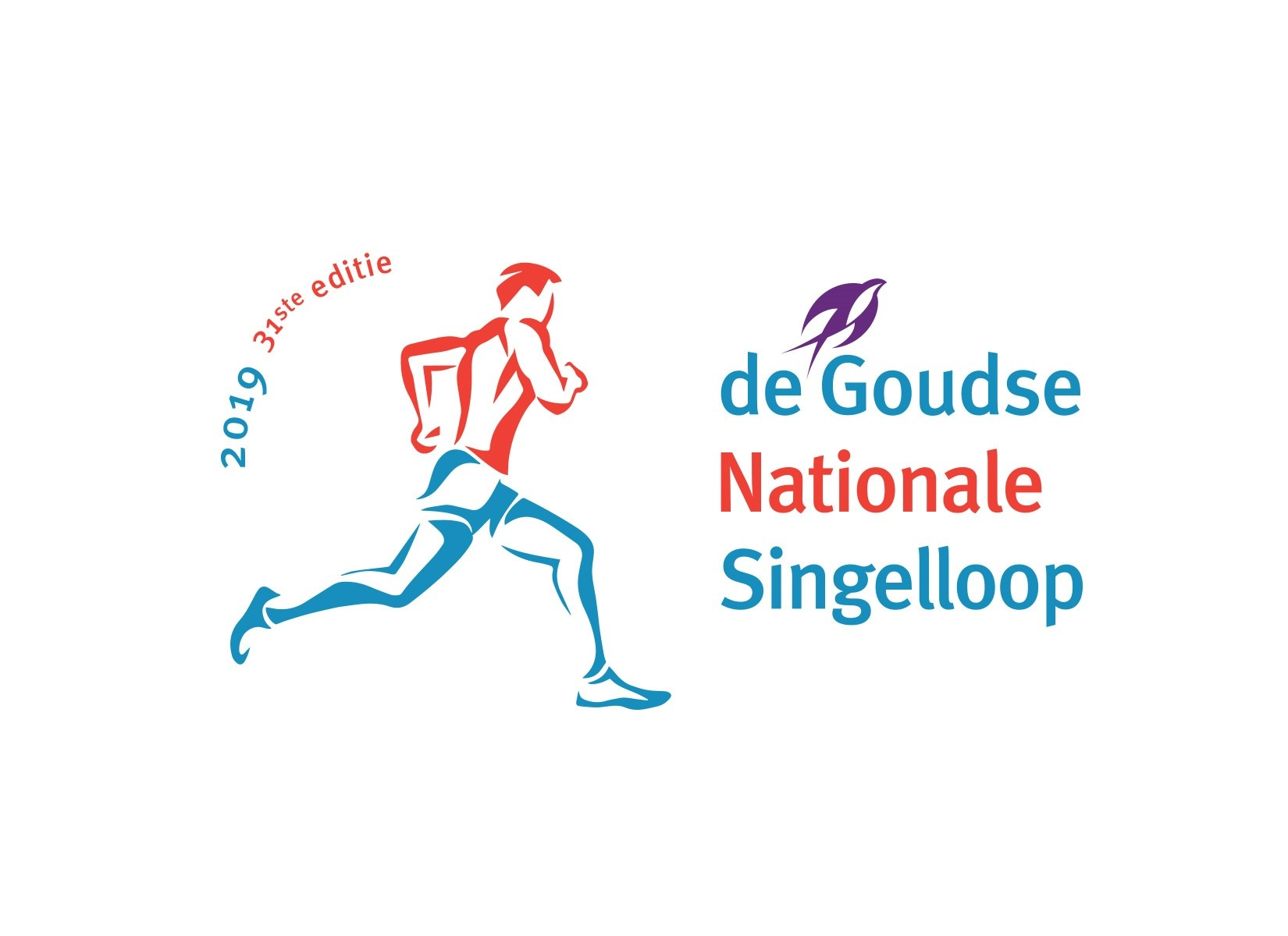 Goudse Singelloep 2019 evnt logo