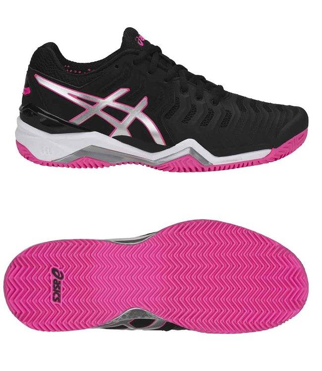 Asics Gel-Resolution 7 clay w black/hot pink
