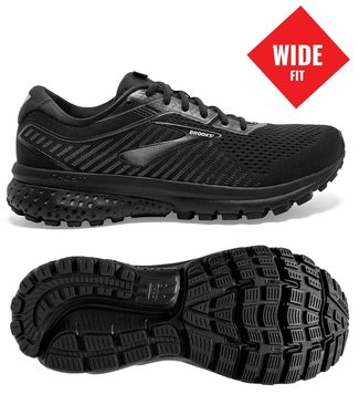 Brooks Ghost 12 W wide D black
