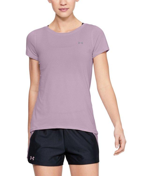 Under Armour UA Heat Gear SS Tee Pink 1328964-694 women