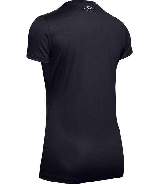 Under Armour Tech SSV Tee solid black 1255839-002
