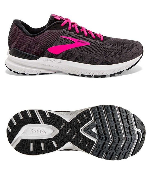 Brooks Ravenna 10 W Ebony/Black/Pink