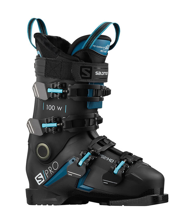 Salomon S/PRO 100 W BLACK/Blue/SCUBA