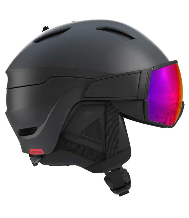Salomon Driver Black/Red Accent/Solar