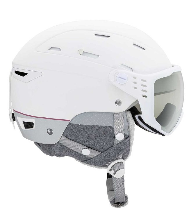Rossignol Allspeed Visor vis Impacts W Photo White