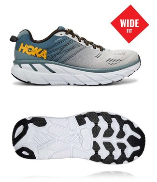 Hoka one one M Clifton 6 Wide LEAD / LUNAR ROCK