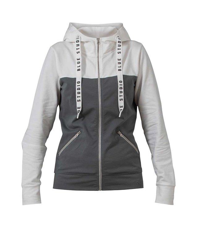 Blue sportswear Atlanta Jacket Niel / Ivory