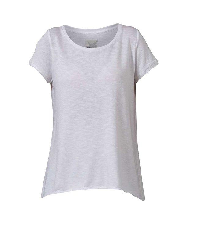 Blue sportswear Palmdale tee white SS 100% katoen