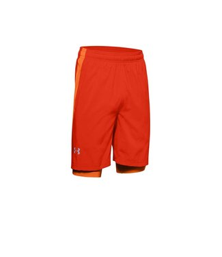 Under Armour Ua Launch SW 2-in1 short orange short