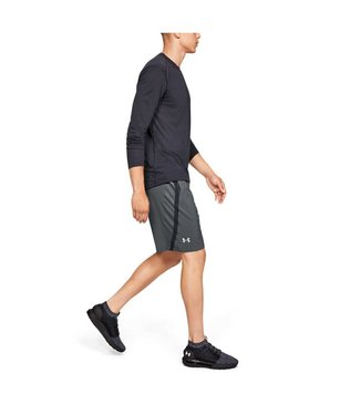 Under Armour UA Launch SW 9 short -Gry heren