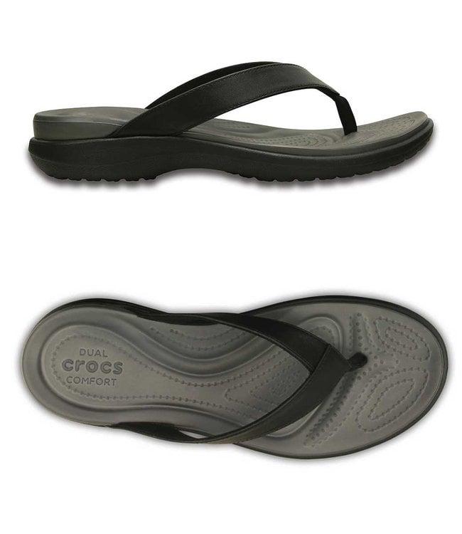 Crocs Capri V Flip W Black/Graphite