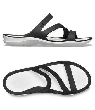 Crocs Swiftwater Sandal W Black/White