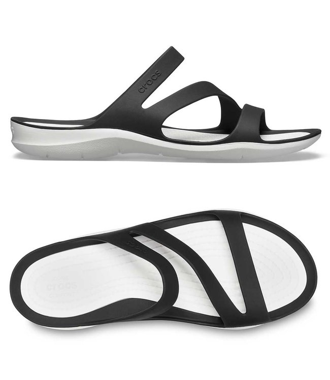 Crocs Swiftwater Sandal W Black/White
