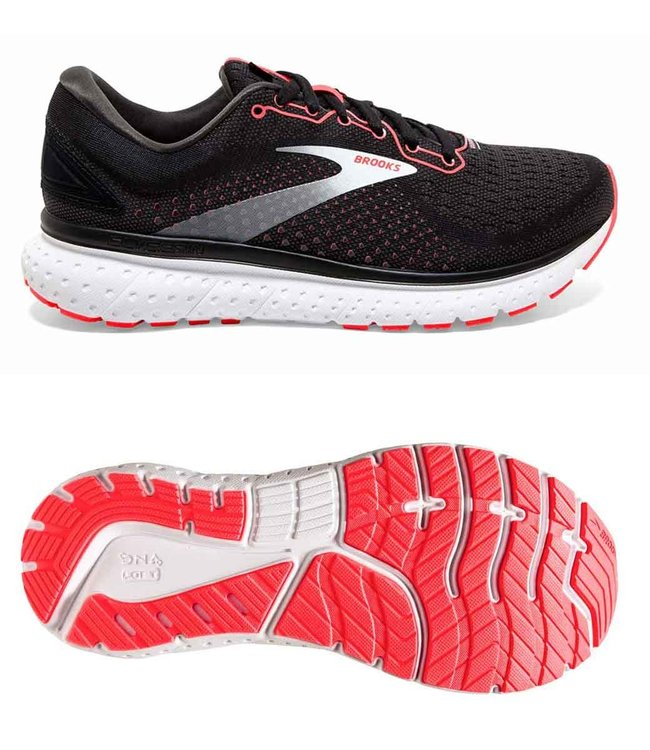 Brooks Glycerin 18  W Black/Coral/White
