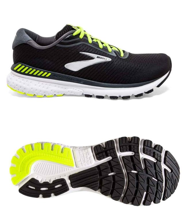 Brooks Adrenaline GTS 20  Black/Nightlife/White