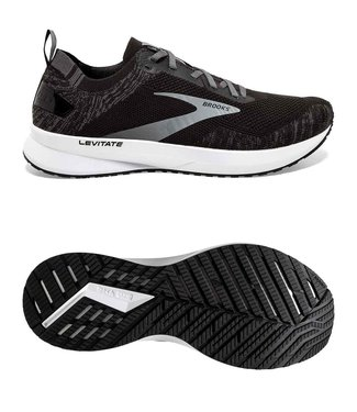 Brooks Levitate 4 W Black/Blackened Pearl/White