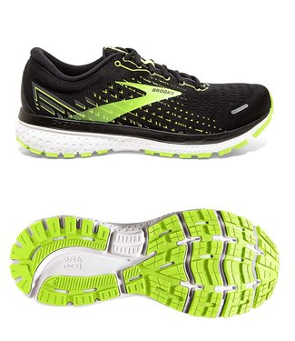 Brooks Ghost 13 Black/Nightlife/White