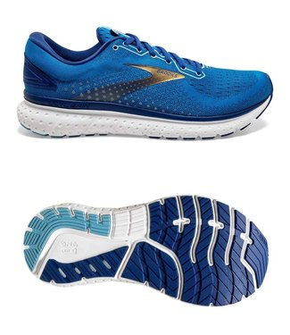 Brooks Glycerin 18  Blue / Mazarine / Gold
